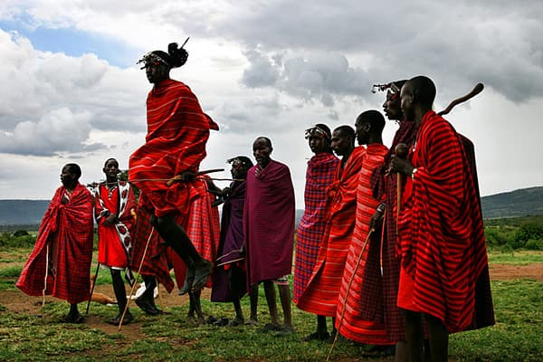 Do You Have The Mental Strength Of A Masai Warrior?