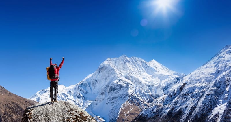 From Heartbreak to the Mount Everest