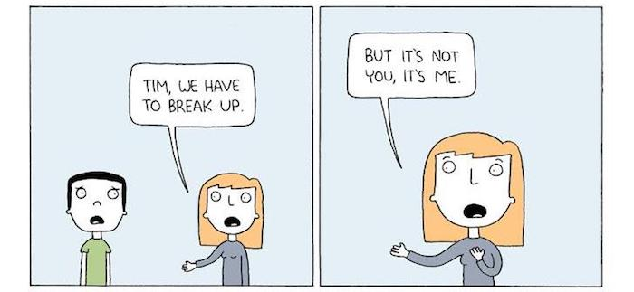 11 Most Hilarious Breakup Cartoons To Forget Your Ex