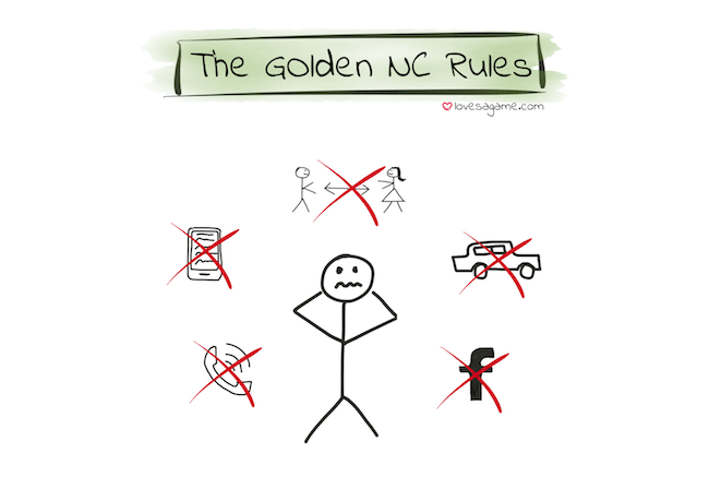 How Does The No Contact Rule Work?